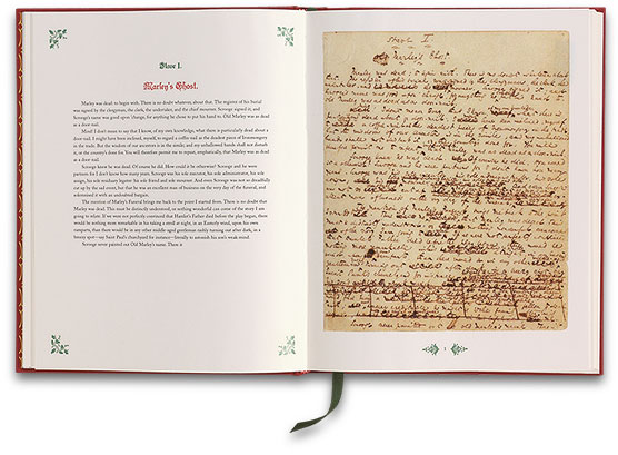 Dickens manuscript
