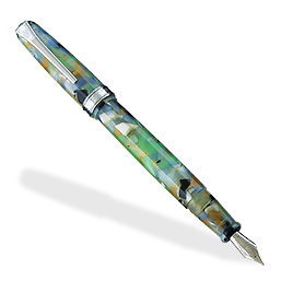 Levenger True Writer Sea Glass Fountain Pen