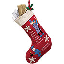 Dickens Christmas Carol Stocking