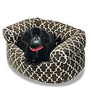 Lounge Hound Double Donut Dog Bed