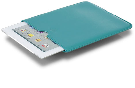 English Leather iPad Sleeve in Blue