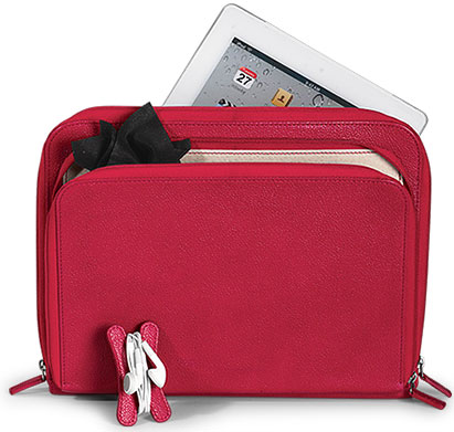 Pocquettes iPad Case in Red