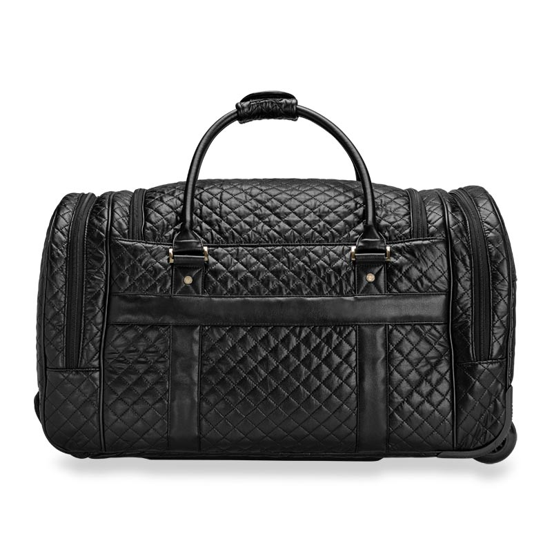 Vip Quilted Travel Duffel Levenger