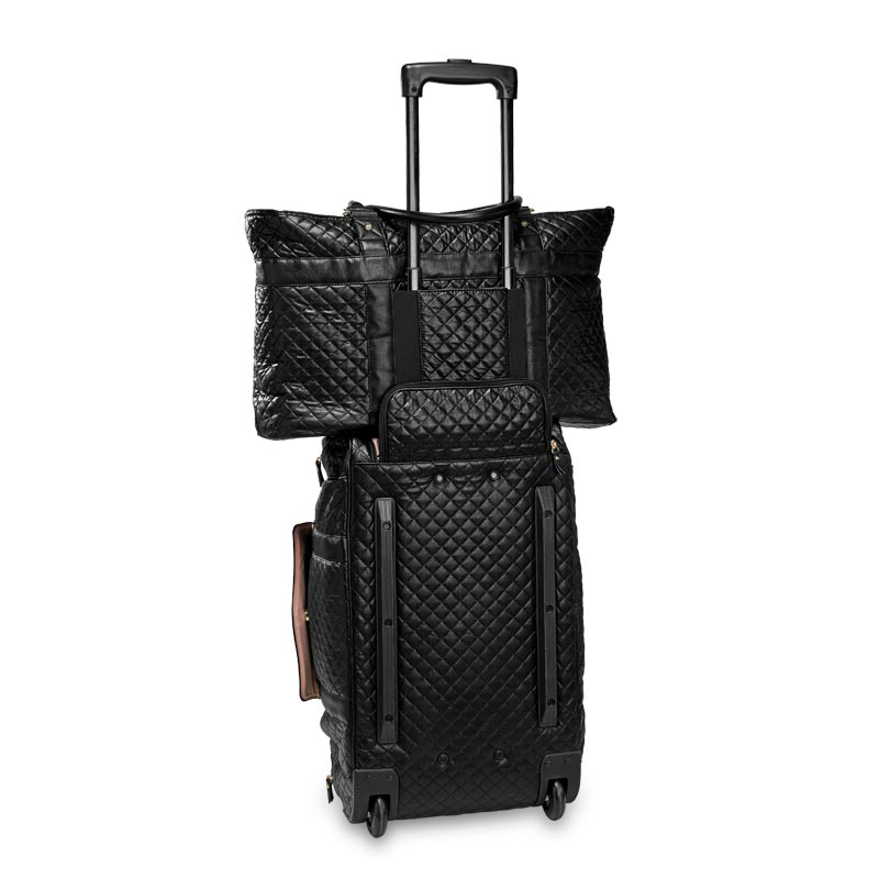 Vip Quilted Travel Tote Levenger