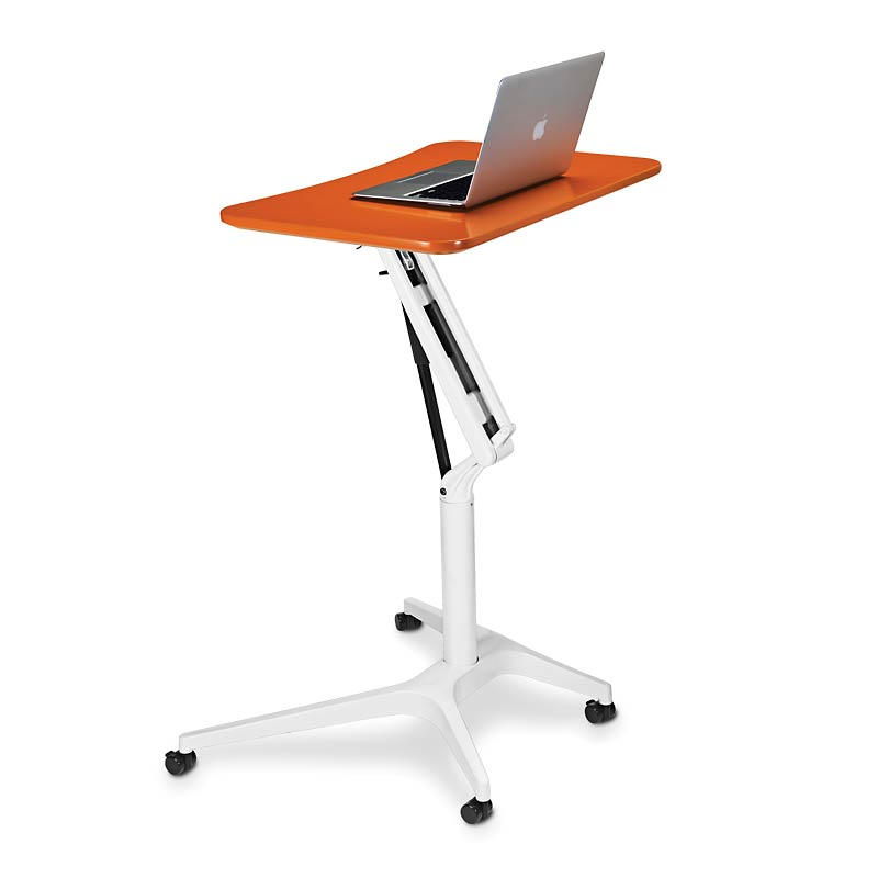 Stand Sit Desk Workstations On Wheels
