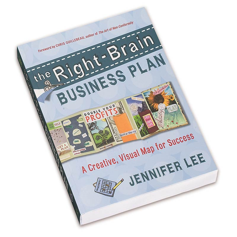 The Right Brain Business Plan A Creative Visual Map for Success