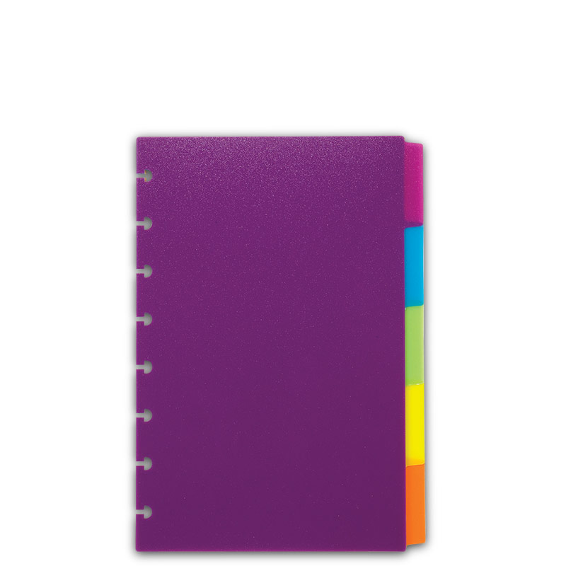 Circa Vivacious Tab Dividers - Colorful Notebook Dividers - Levenger
