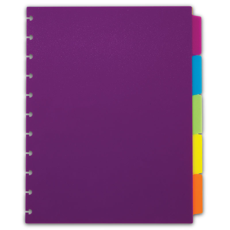 circa vivacious tab dividers colorful notebook dividers With notebook with letter tabs