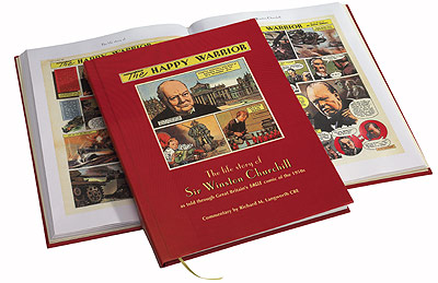 The Happy Warrior - The Life Story of Sir Winston Churchill