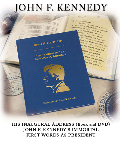 John F. Kennedy: His Inaugural Address (Book and DVD)