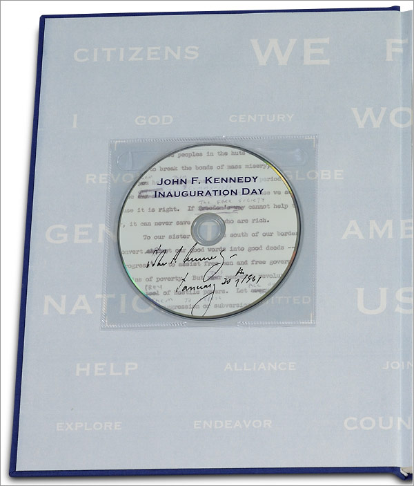 John F. Kennedy: His Inaugural Address - DVD included
