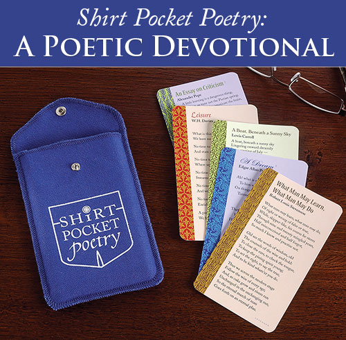 A Poetic Devotional. Think of it as an app made of paper.