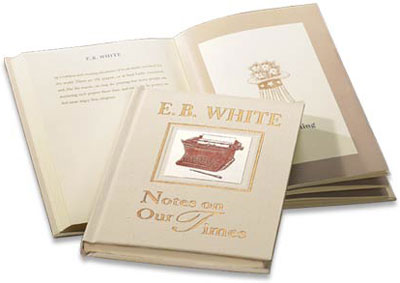eb white essay excerpt Narrative essay examples a short narrative by eb white the first example of narration below is an excerpt from a short stories, poems essay sample on.