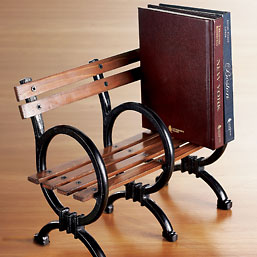 Park Bench Bookend