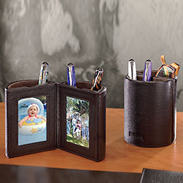 Bomber Jacket Pen Cup Photo Frame