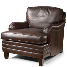 Bomber Jacket Reader's Chair