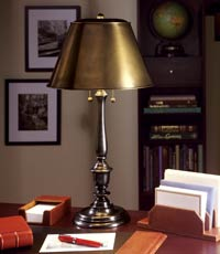 New York Public Library Lamp, Desk