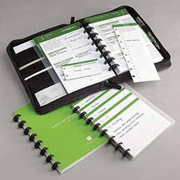 Complete Circa Balanced Life Planner System (July-Dec. 2012) w/Master Zip F