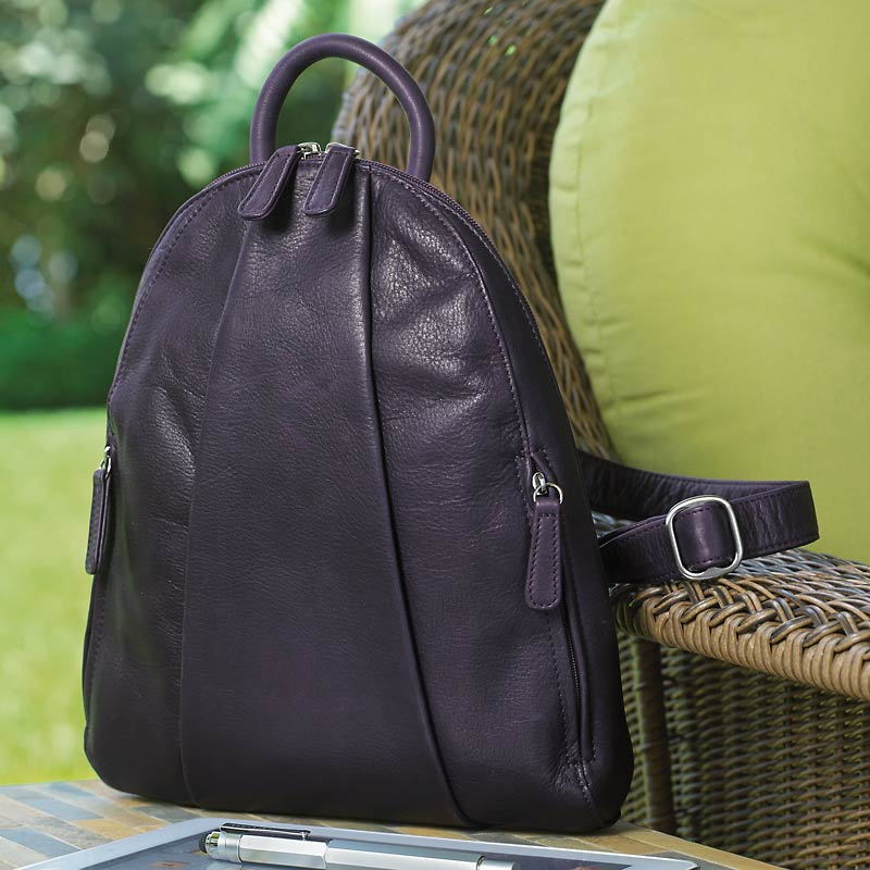 Marley Teardrop Multi-Zip Backpack