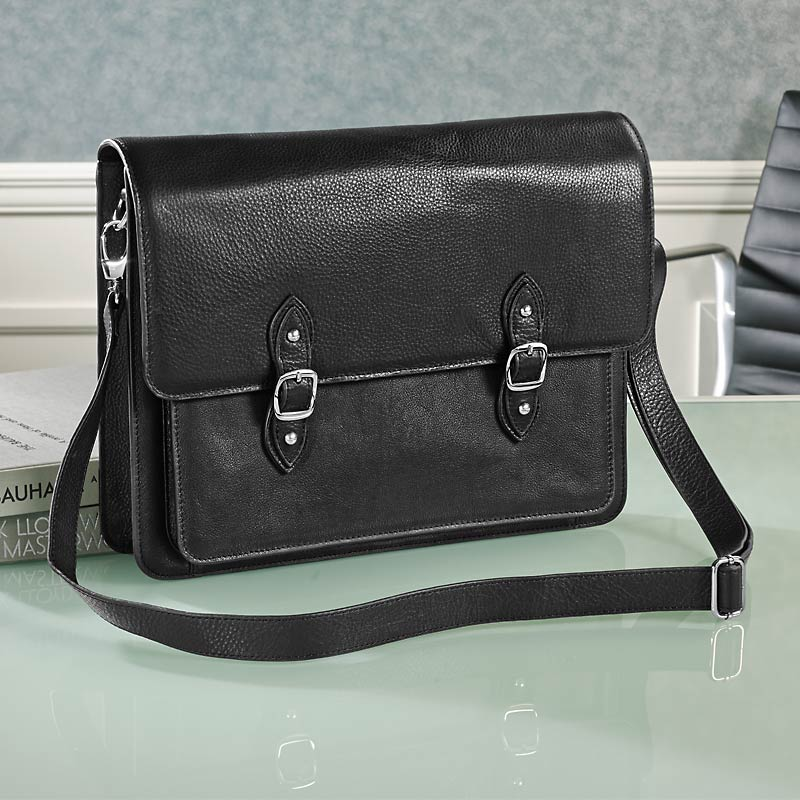 Oxford Messenger - Black