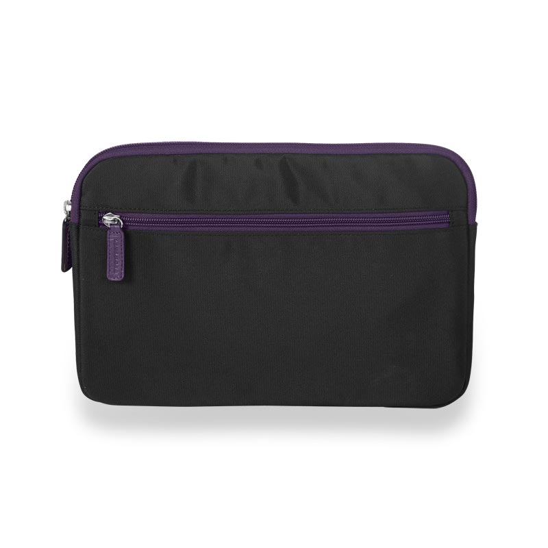 Your Bag, Your Way Tablet Sleeve, Black/Grape