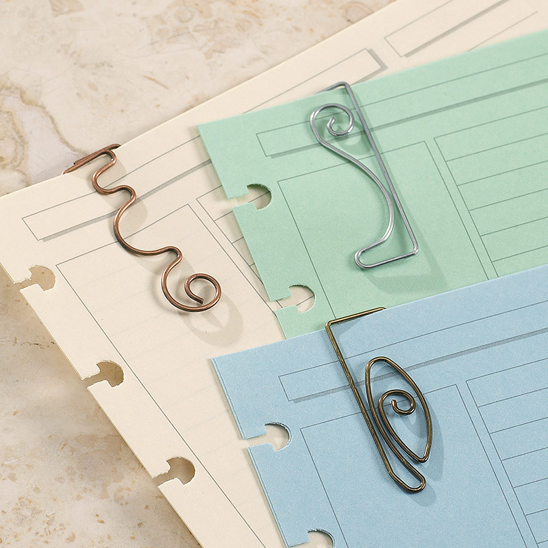 SpringTones™ Ornamental Paper Clips (set of 3 packs)