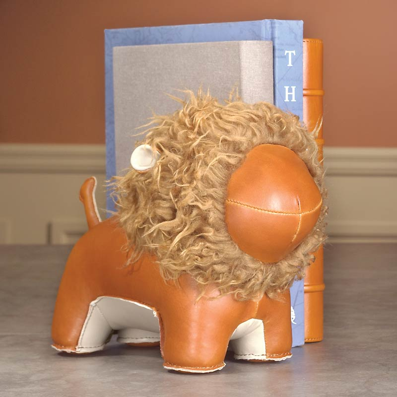 Literary Lion Bookend