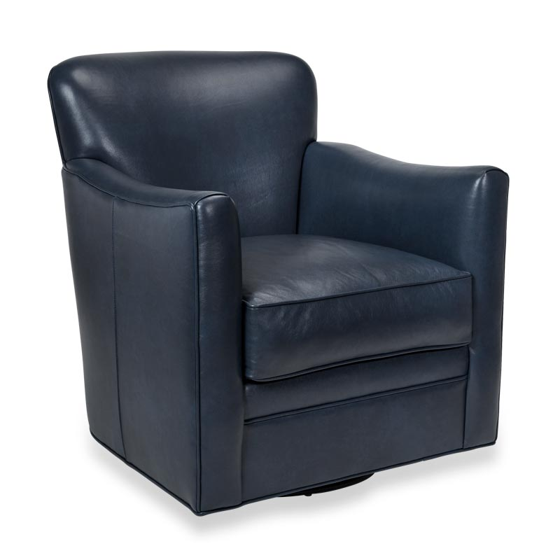 Levenger Leather Wingback Chair   Oceanic