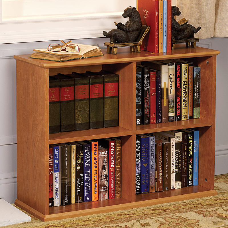 No-Room-for-a-Bookcase Bookcase™, Natural Cherry