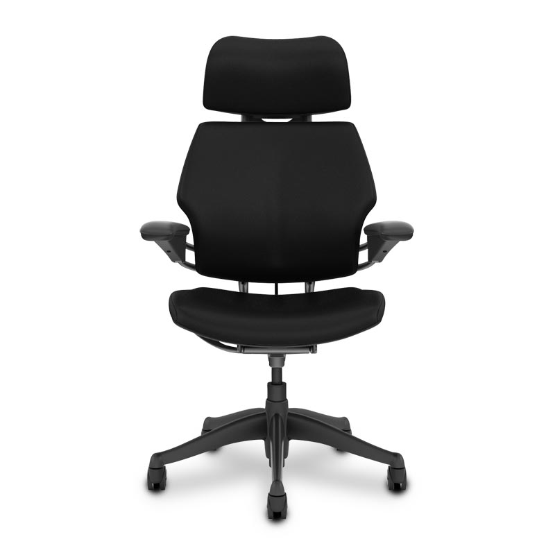 Leather Freedom Chair w Headrest Levenger