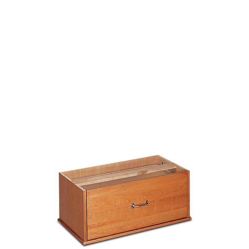 Stackable Lateral Drawer, Natural Cherry