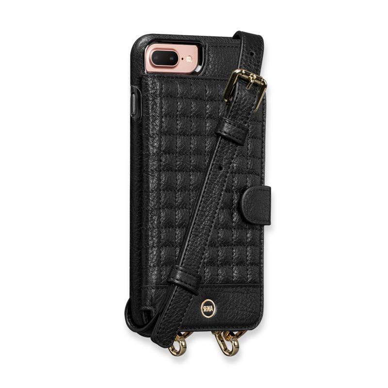 iphone 7 8 plus crossbody snap on case levenger. Black Bedroom Furniture Sets. Home Design Ideas