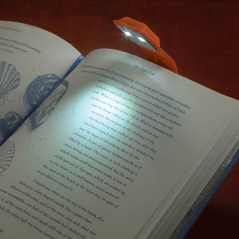 Moleskine Booklight Bookmark