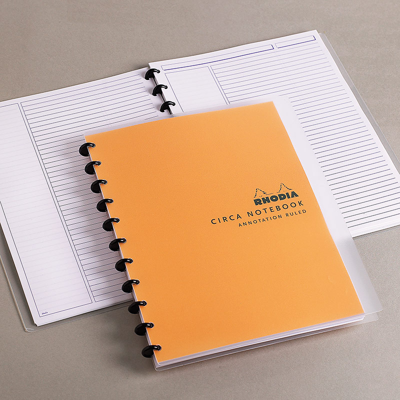 Circa Rhodia Annotation Ruled Notebook, Letter
