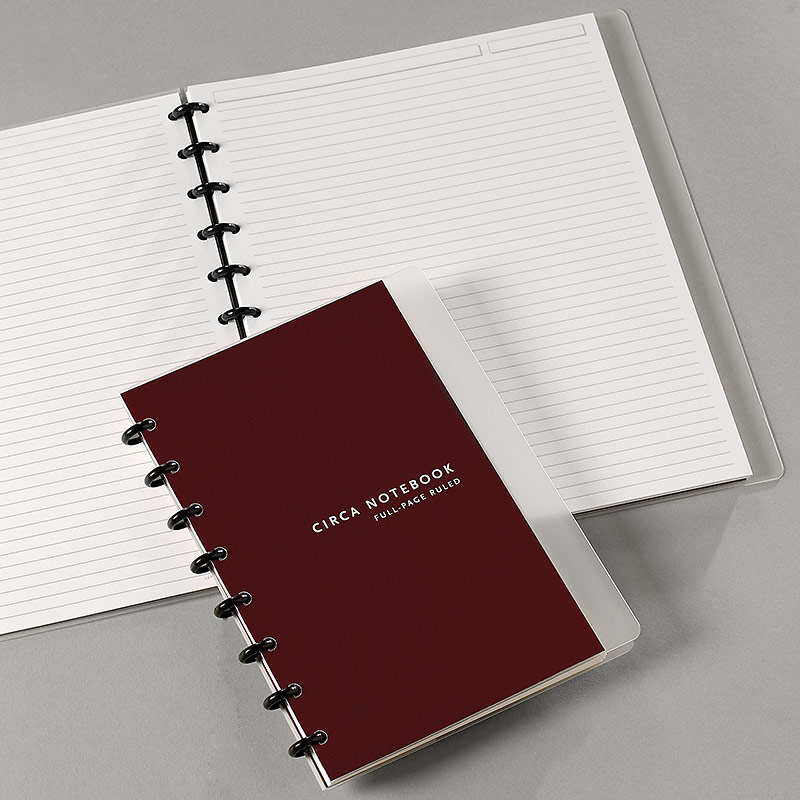Circa Full Page Ruled Notebook, Letter