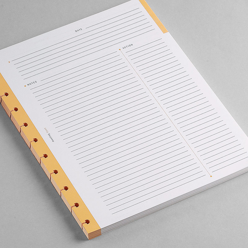 100 Circa Rhodia Meeting Refill Sheets, Letter
