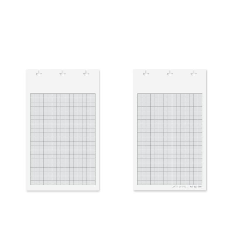 100 Special Request™ Shaded Grid Jotlet Cards