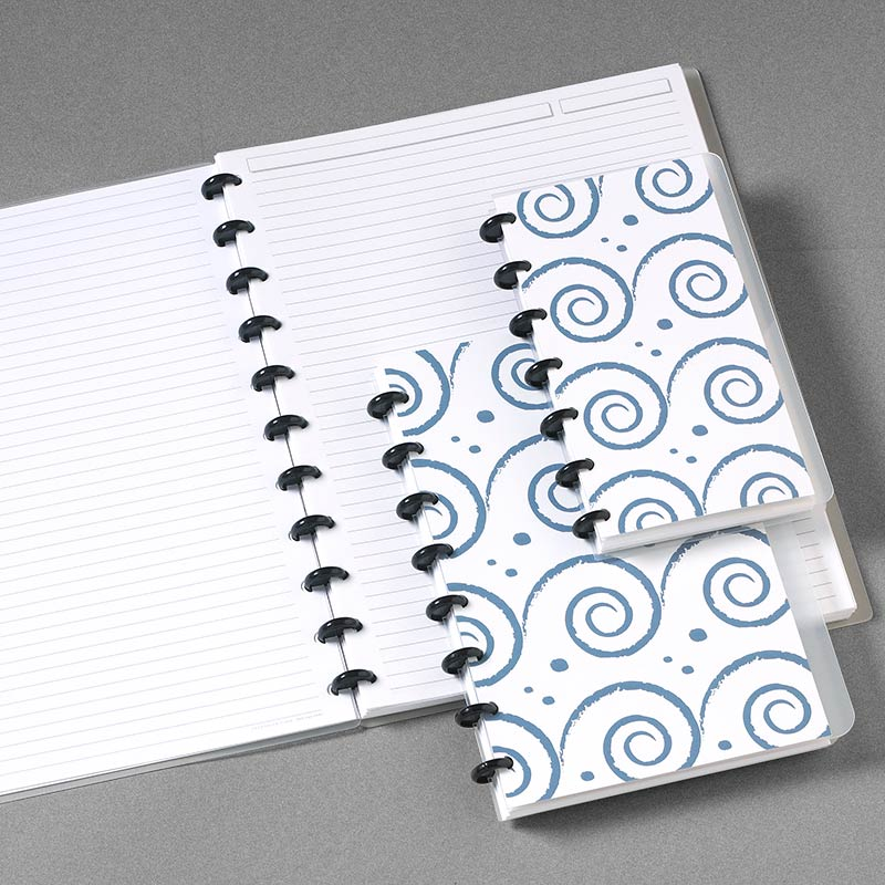 Special Request™ Circa Personalized Notebook, Waves