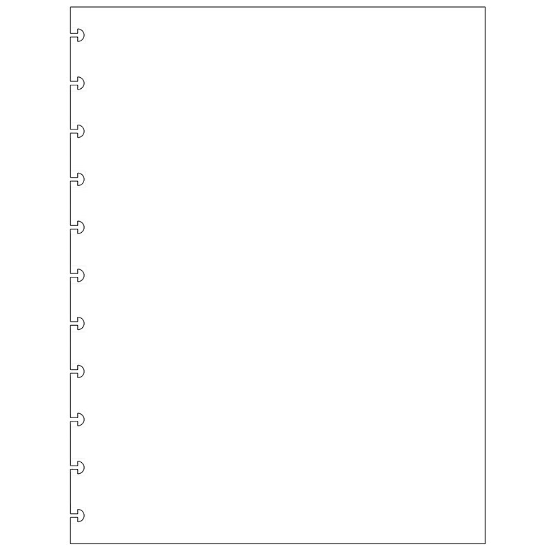 Special Request™ Blank (100 sheets), Circa Letter