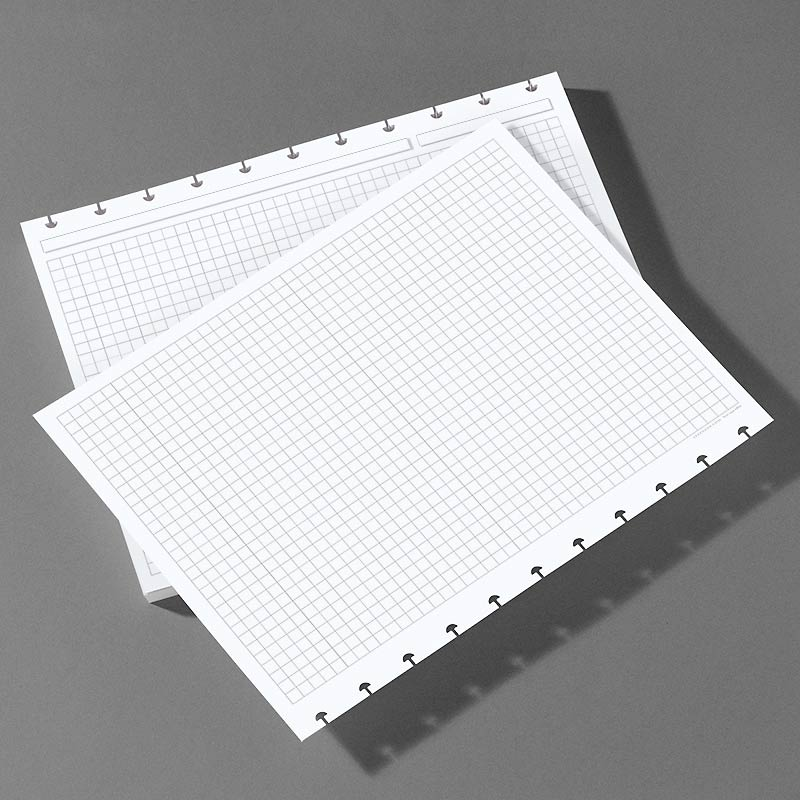 Special Request™ Circa Horizontal Full-Page Grid Refill, Letter