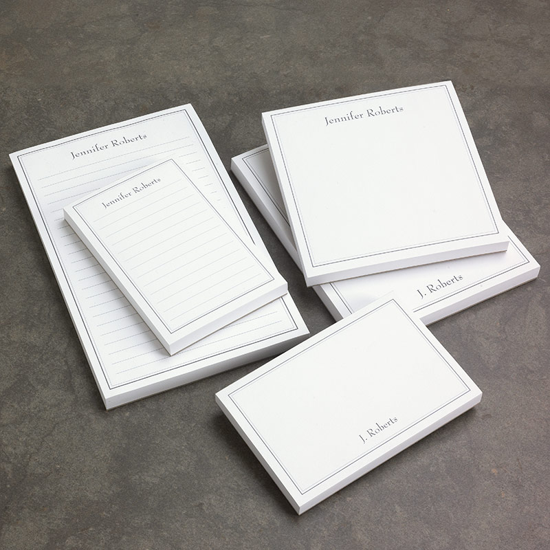 Custom note pads