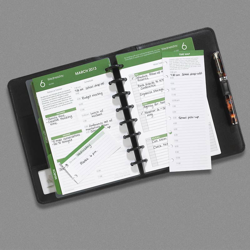 Complete 2013 Circa Balanced Life Planner System with Master Folio