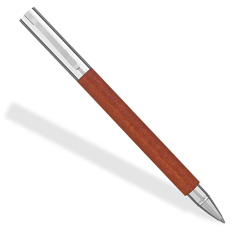Ambition Rollerball Pen-Pearwood