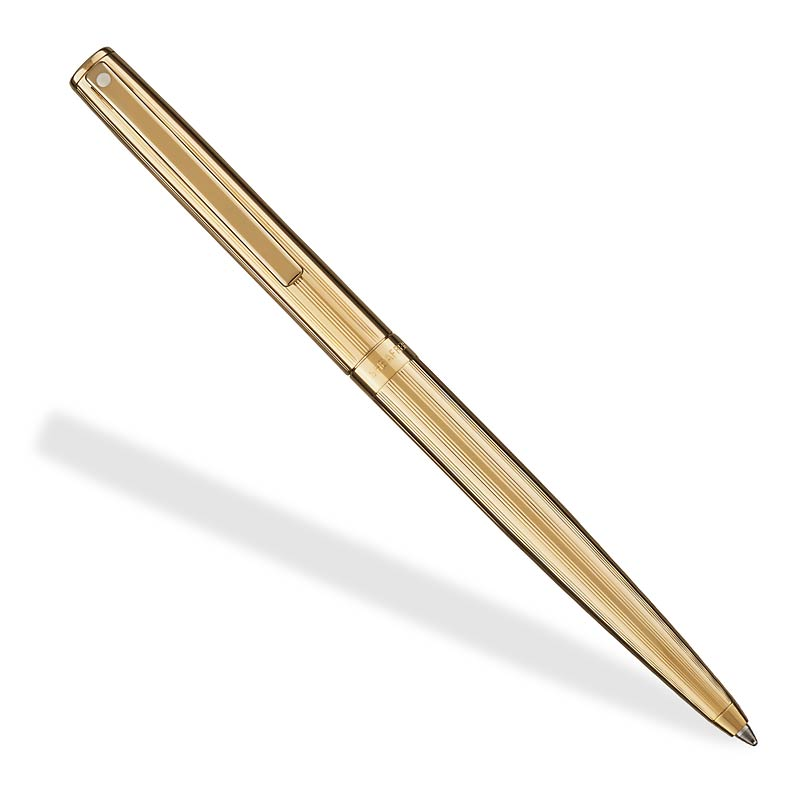 Sheaffer Sagaris Ballpoint Fluted Gold