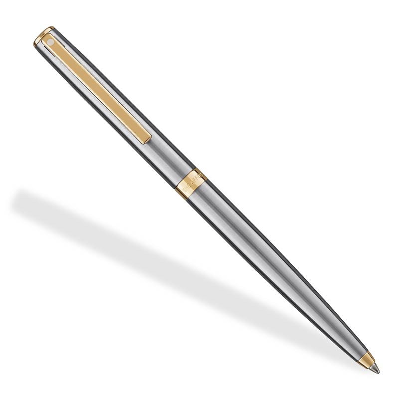 Sagaris Brushed Chrome Ballpoint