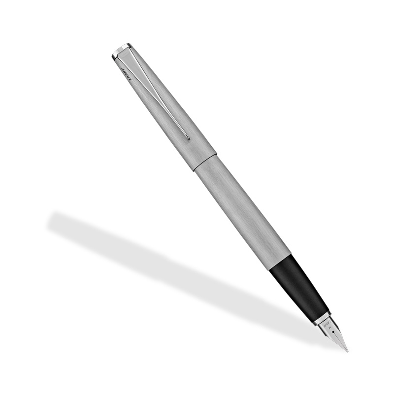 Lamy Studio Fountain Pen Stainless Steel Fine