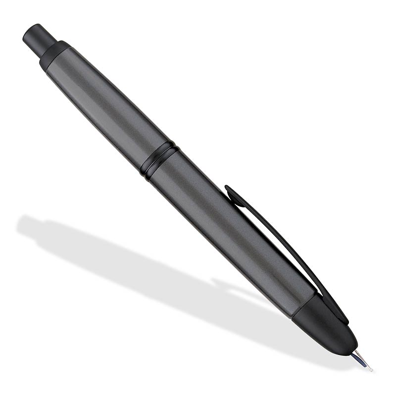 Namiki/Pilot Vanishing Point Fountain Pen, Gunmetal Matte