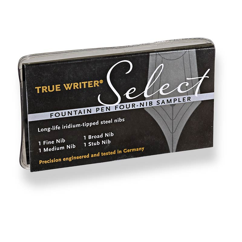 True Writer® Select Four-Nib Sampler