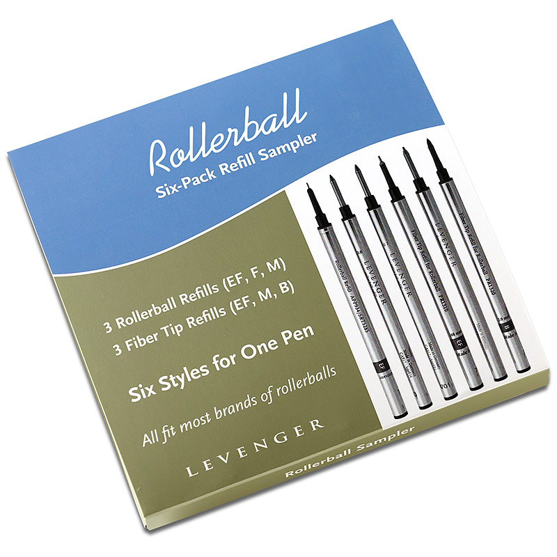 Rollerball Refill Sampler