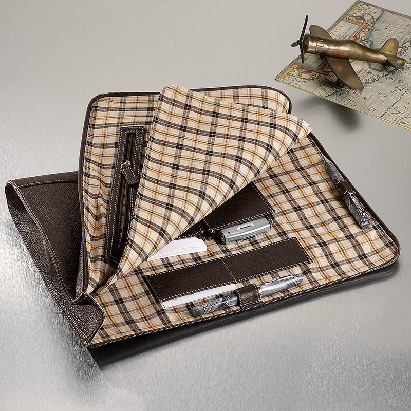 Bomber Jacket Expandable Briefolio